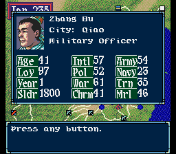 Zhang Hu -Character Profile :Character Profile - User Screenshot